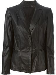 кожаный пиджак  Sylvie Schimmel
