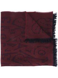 шарф с принтом букв  Salvatore Ferragamo