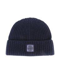 шапка с нашивкой логотипа Stone Island