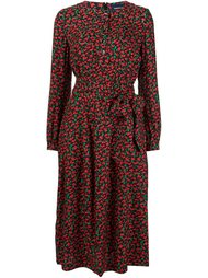 floral pattern longsleeved dress Vanessa Seward