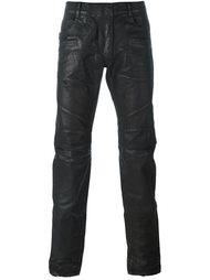 вощеные брюки  Balmain