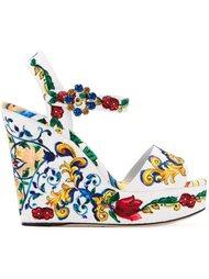 босоножки 'Bianca' на танкетке Dolce & Gabbana