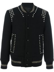 куртка-бомбер с заклепками Marc Jacobs