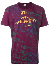 футболка с принтом-логотипом Vivienne Westwood Man