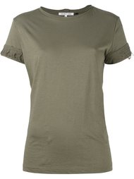 футболка с потертыми рукавами Helmut Lang