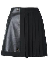 плиссированная мини-юбка Versace
