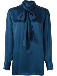 блузка с завязками на бант Lanvin