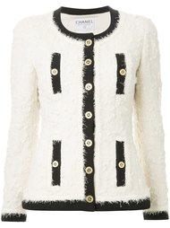 пиджак с бахромой Chanel Vintage