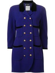 двубортный пиджак Chanel Vintage