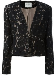 пиджак с цветочным кружевом Lanvin