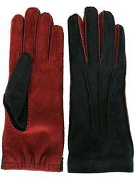 двухцветные перчатки  Marni