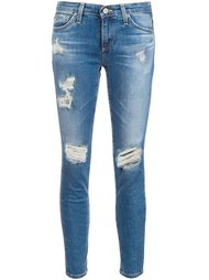 distressed skinny jeans Ag Jeans