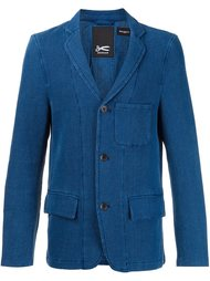 triple button blazer Denham