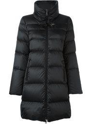 стеганое пальто с воротником-воронкой Fay