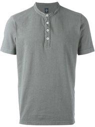 футболка-поло с воротником-стойкой Eleventy