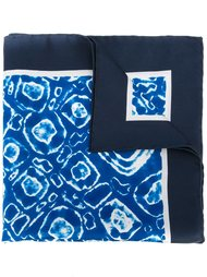 карманный платок с принтом тай-дай Kiton