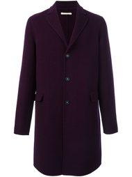 однобортное пальто в клетку Massimo Alba
