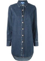 свободная джинсовая рубашка  Mih Jeans