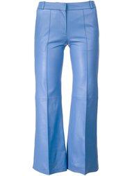 lambskin cropped trousers Barbara Bui
