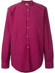рубашка с воротником-стойкой Massimo Alba