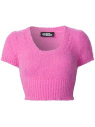 cropped knit top Jeremy Scott