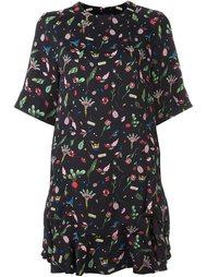 платье с цветочным принтом Steve J & Yoni P