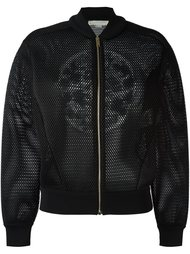 сетчатая куртка-бомбер Stella McCartney
