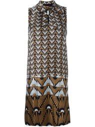 платье с геометрическим узором Max Mara Studio