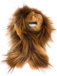 шарф из меха кролика Max Mara Studio