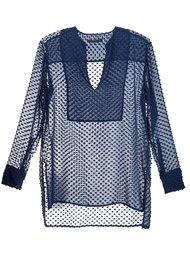 блузка c V-образным вырезом  Jenni Kayne