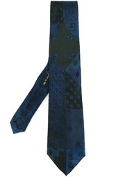 галстук со смешанными узорами Etro