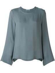 блузка с круглым вырезом Barena