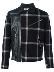 куртка в клетку с панельным дизайном McQ Alexander McQueen