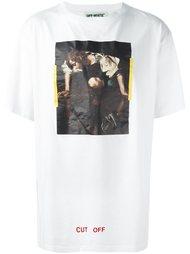 футболка с принтом 'Cut Off' Off-White