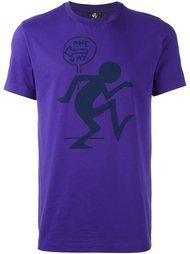 футболка с принтом человечка  PS Paul Smith