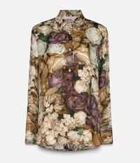 рубашка с цветочным узором Christopher Kane