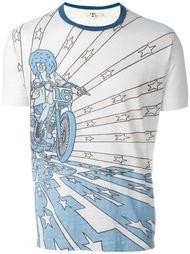 футболка с анимационным принтом YMC