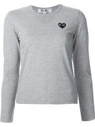 chest patch longsleeved T-shirt Comme Des Garçons Play