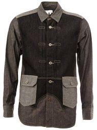 patchwork denim shirt Ganryu Comme Des Garcons