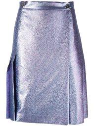 юбка с эффектом металлик  Marco De Vincenzo