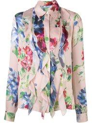 рубашка с цветочным узором Blumarine