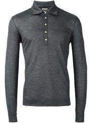 рубашка-поло с длинными рукавами Massimo Alba