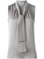 блузка с бантом Eleventy