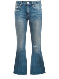 cropped flare jeans Amo