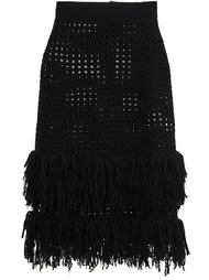 openwork fringed skirt Spencer Vladimir