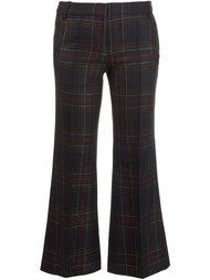 tartan cropped trousers Barbara Bui