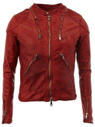 multi-zipper jacket Giorgio Brato