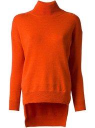 свитер с неравномерным подолом  Cédric Charlier