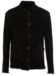 button up leather jacket Giorgio Brato