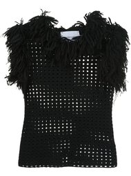 openwork fringed top Spencer Vladimir